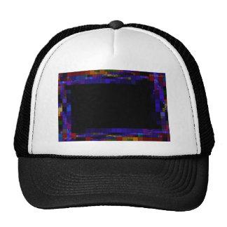 frame-417838 SQUARES RECTANGLES frame  dark color Trucker Hat