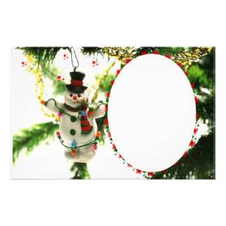 "Frame for photo ""Doll of Christmas "" Stationery"