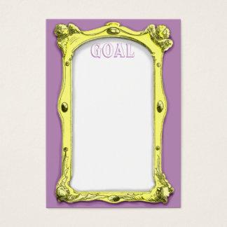 Frame Goal Card