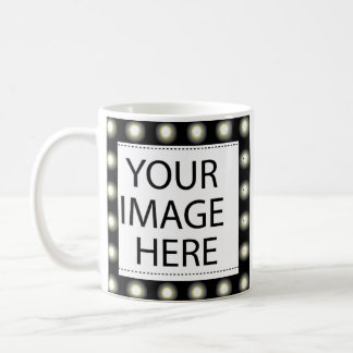 Frame Lights Template Add your Image and/or Text Coffee Mug