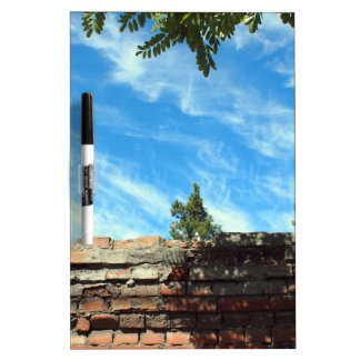 Frame of a blue sky with clouds dry erase boards