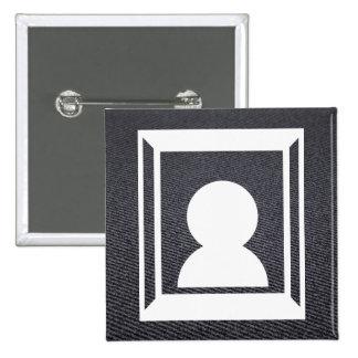 Frame Pics Icon 15 Cm Square Badge