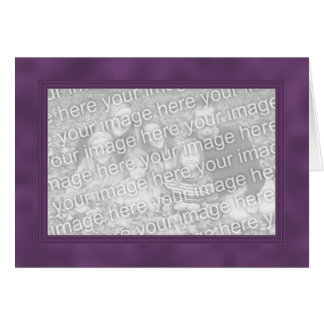 Frame Template Card - Smokey Magenta