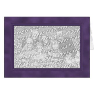 Frame Template Card - Smokey Purple