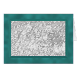 Frame Template Card - Turquoise