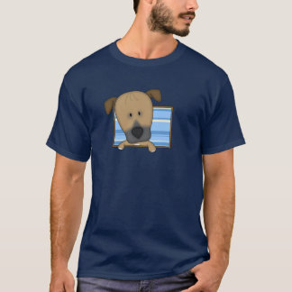 Framed Cartoon Rhodesian Ridgeback T-Shirt