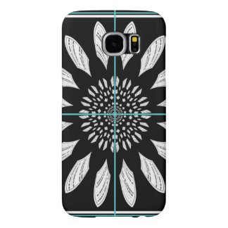 Framed daisy samsung galaxy s6 cases