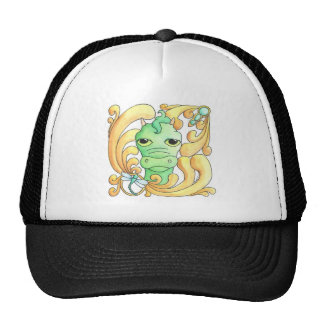 Framed Dragon Mesh Hat