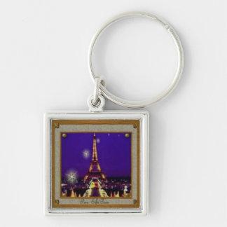 Framed Eiffel Tower Key Chains