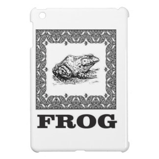 framed frog artwork cover for the iPad mini