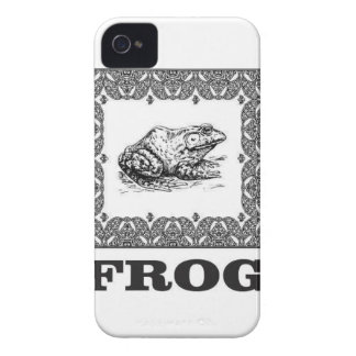 framed frog artwork iPhone 4 case
