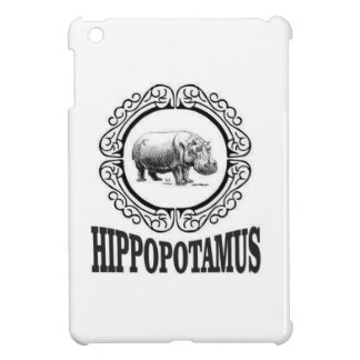 Framed Hippo Case For The iPad Mini