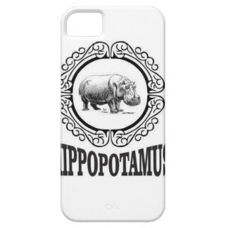 Framed Hippo Case For The iPhone 5