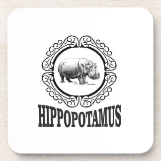 Framed Hippo Coaster