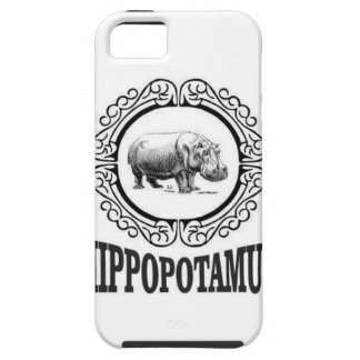 Framed Hippo iPhone 5 Cover