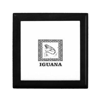 framed iguana yeah gift box