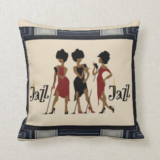 Framed Jazz  Reversible Decorative Pillow