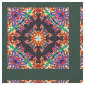 Framed Kaleidoscope Fabric