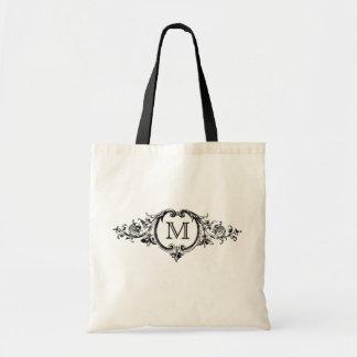 Framed Monogram Tote Bag