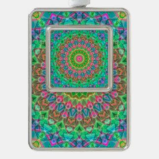 Framed Ornament Geometric Mandala G18