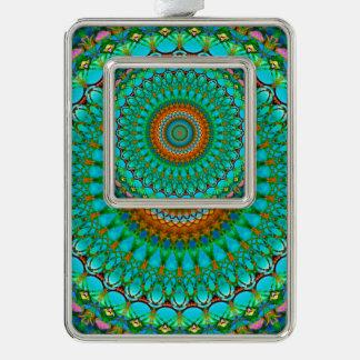 Framed Ornament Geometric Mandala G388