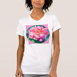 Framed Pink Rose T-shirt