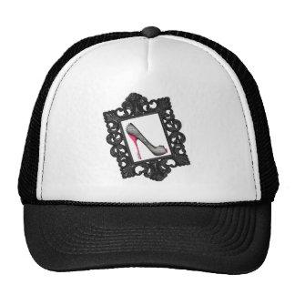 Framed Reptile Stiletto Logo Hats