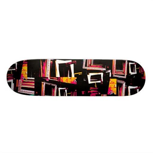 Framed. Skateboard