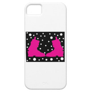 Framed Ski Boots iPhone 5/5S Cases