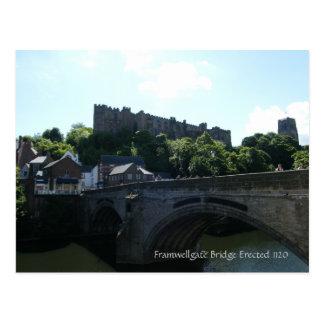 Framwelgate Bridge Postcard