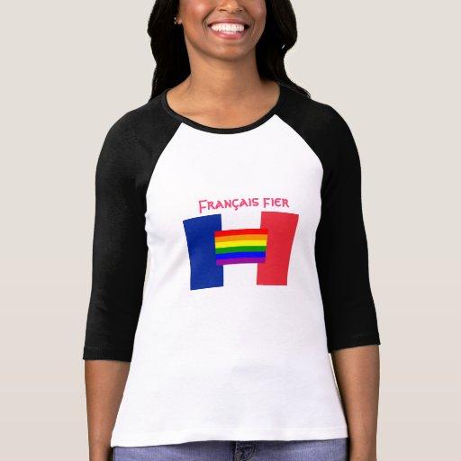 Francais* Fier Gay T-shirt