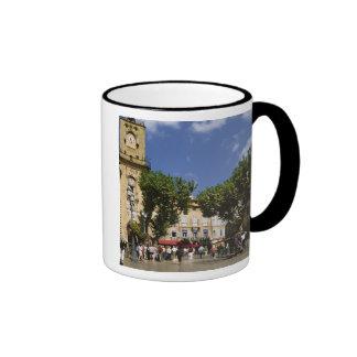 France, Aix en Provence, La Place de la Maire Ringer Mug