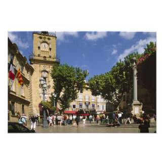France, Aix en Provence, La Place de la Maire Photo