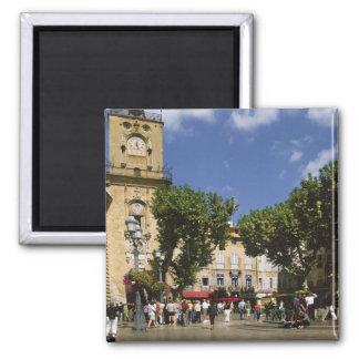 France, Aix en Provence, La Place de la Maire Square Magnet
