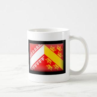 France-Alsace Flag Coffee Mugs