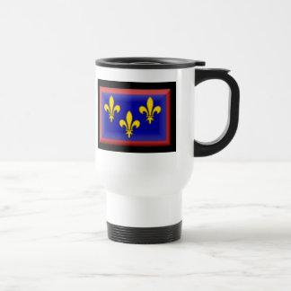 France-Anjou Flag Coffee Mugs