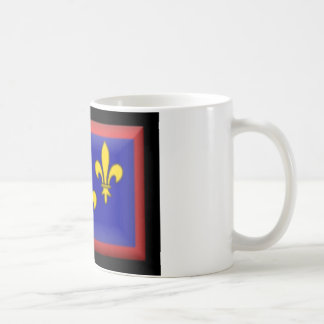 France-Anjou Flag Mugs