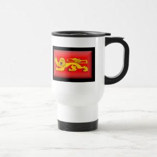 France-Aquitaine Flag Mug