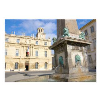 France, Arles, Provence, Place de la Art Photo