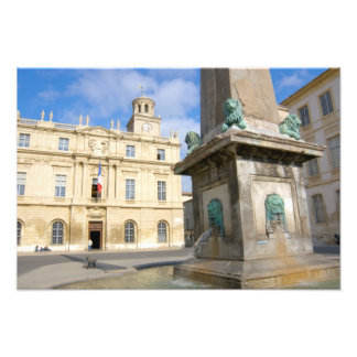 France, Arles, Provence, Place de la Photograph