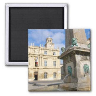 France, Arles, Provence, Place de la Square Magnet