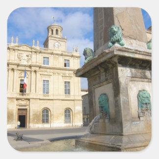 France, Arles, Provence, Place de la Square Sticker
