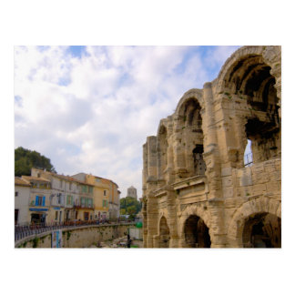 France, Arles, Provence, Roman amphitheatre Postcard