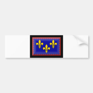 France-Berry Flag Bumper Sticker