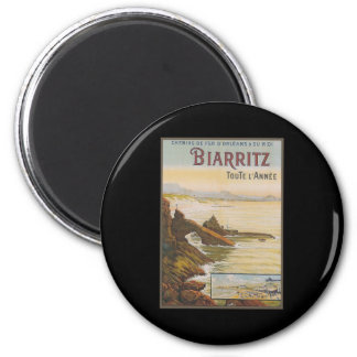 France Biarritz Refrigerator Magnet