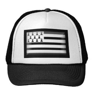 France-Britanny Flag Mesh Hats