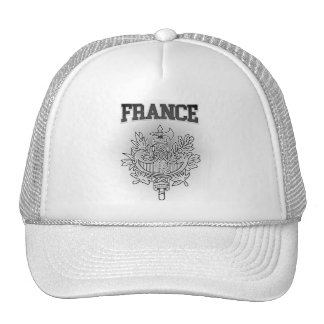 France Coat of Arms Cap