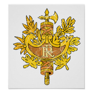 France Coat Of Arms Print