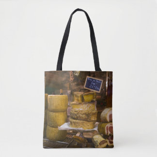 France, Corsica. Local cheeses and charcuterie Tote Bag