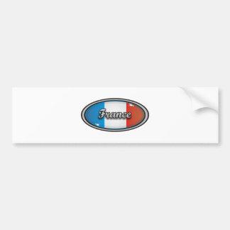 France flag 1 bumper sticker